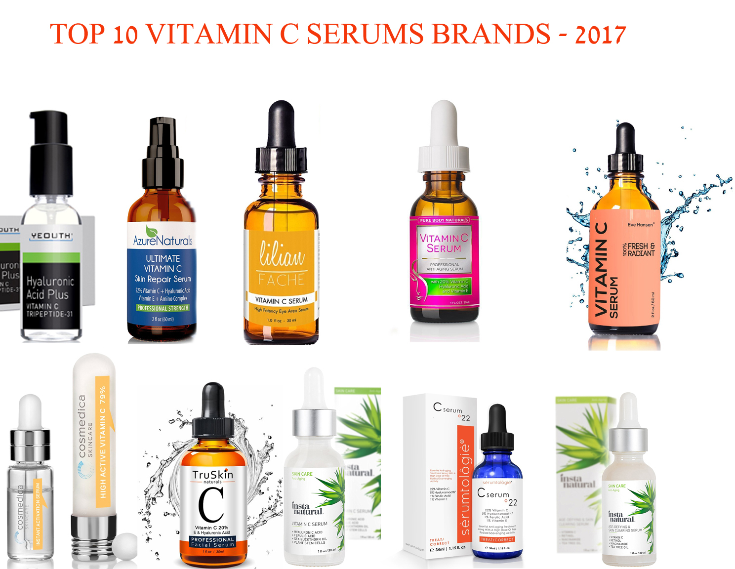 Best vitamin c face products